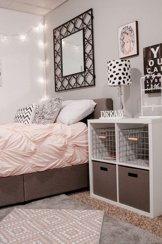 Enhance teen girl bedroom ideas