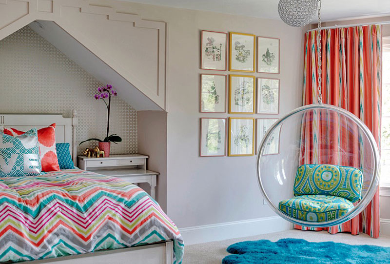 Design teenage bedroom ideas of their own choice