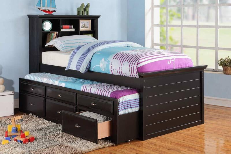 the idea of trundle beds for kids SRJTBMH