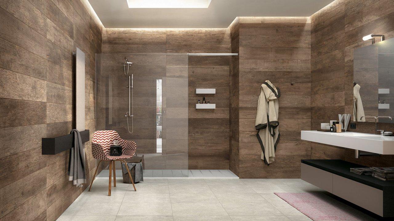 Get the new designed tile bathroom