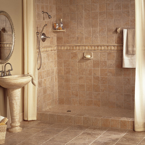 tile bathroom when it comes to bathroom walls, countertops and floors, tiling is always a RMPEASG