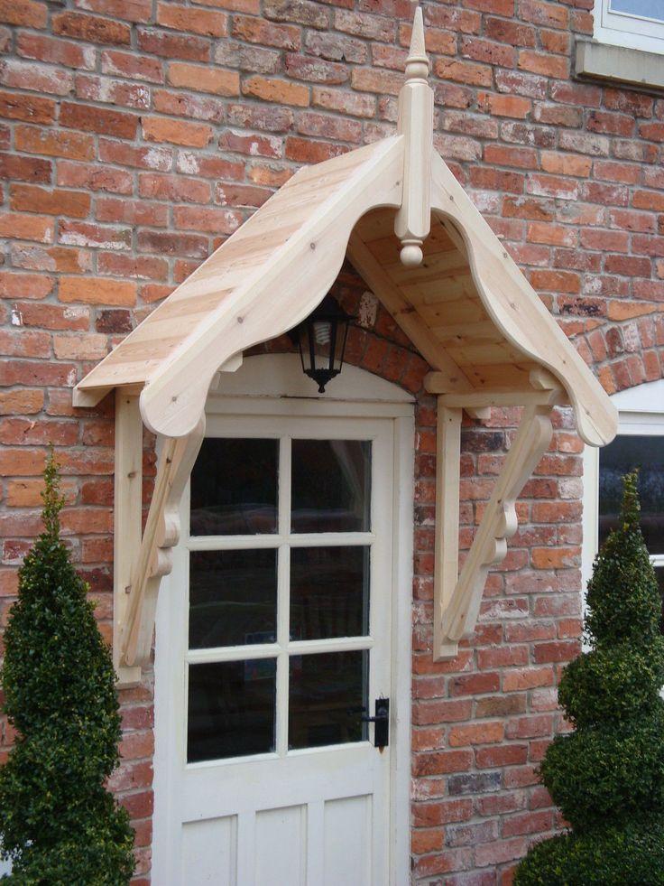 timber front door canopy porch 1050mm  WRHKAEM