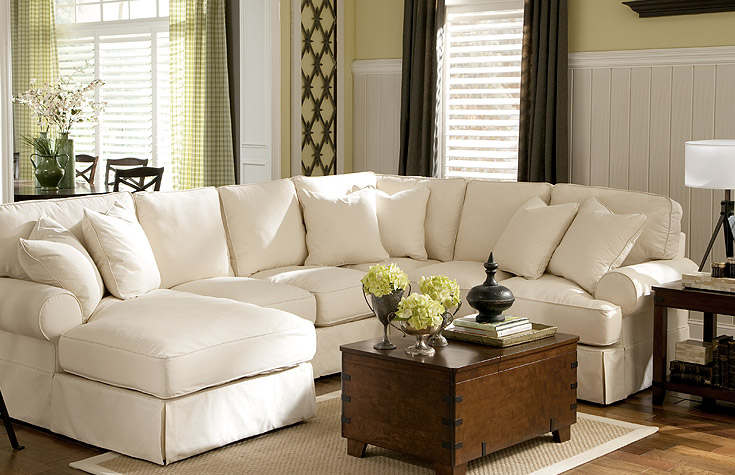 tips in choosing living room furniture set : cozy white living room QPADBJY