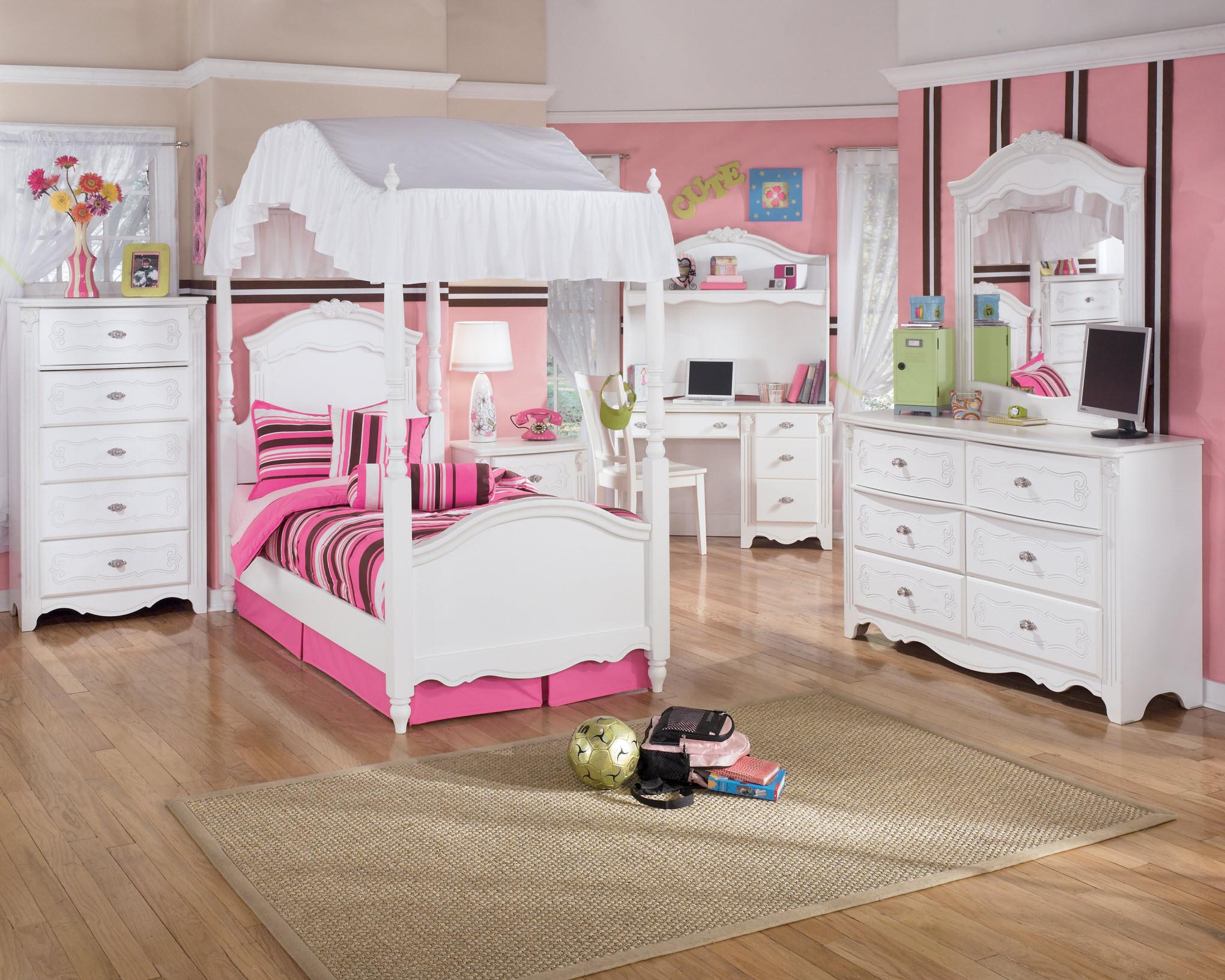 toddler bedroom sets ... breathtaking ashley furniture girl beds kids bedroom sets under 500  white NDXMRMA