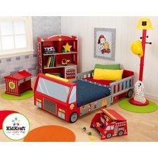 toddler bedroom sets firefighter toddler car customizable bedroom set KZCNYUD