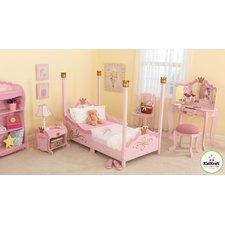toddler bedroom sets princess toddler four poster customizable bedroom set UCVRQPD
