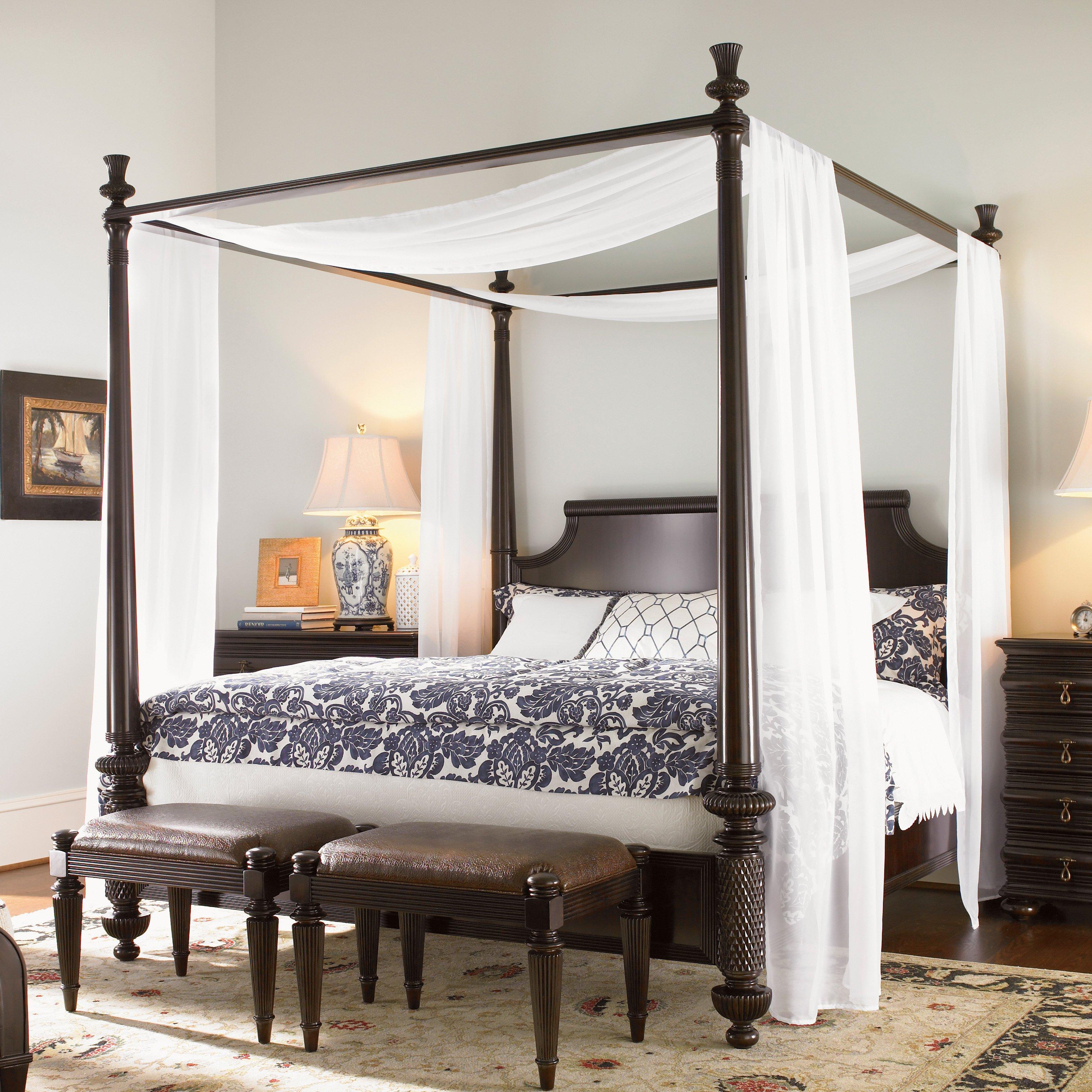 tommy bahama royal kahala diamond head canopy bed - beds at hayneedle UCSYTLK