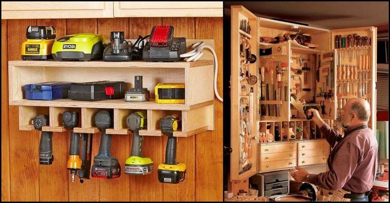 tool storage ideas IUXNCWL