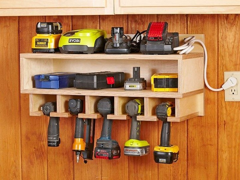tool storage storage idea for power tools VWVSEKV
