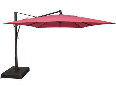 treasure garden cantilever aluminum 10 x 13 foot cantilever umbrella HZCDTIR