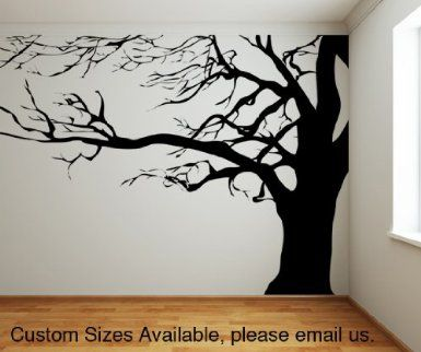 tree wall decals ideas for home decoration - interior decals YXOOIVN