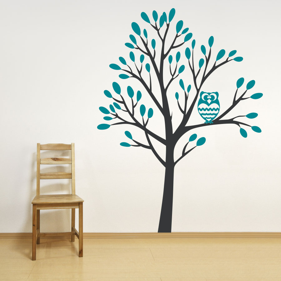 tree wall decals owl in a tree wall decal GJYRQNN