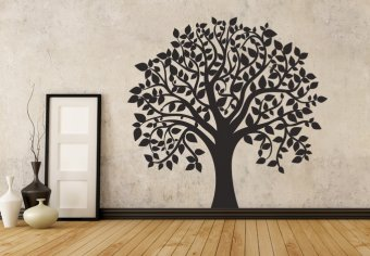 tree wall decals wall decals - tree arbol - 30.00 x 28.50 in, from $49.90 SORCXMC