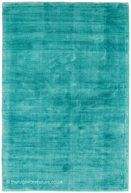 trendy shiny turquoise rug, a luxury hand-woven modern rug made from 100% ZZJVXTZ