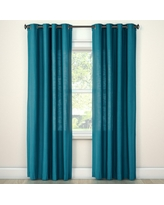 turquoise curtains natural solid curtain panel turquoise (54 YOFAOVK