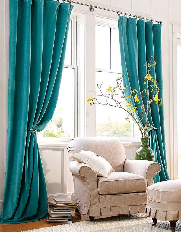 turquoise curtains turquoise window curtains in home decor SHLROXM