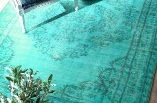 turquoise rug mermaid rug. turquoise ... MOAHNVU