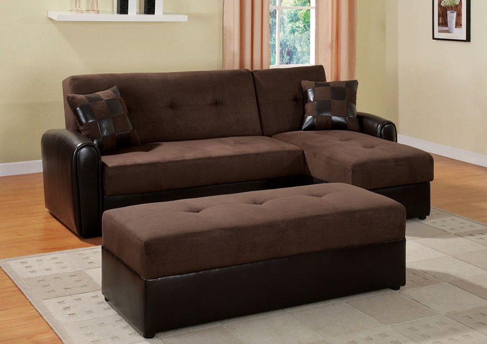 two tone sectional sofa bed ad 8627 AEAHWWF