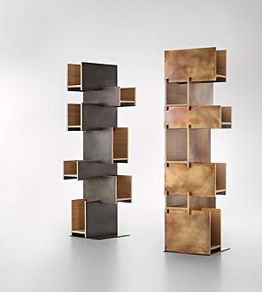 unique modern bookcases cantilever decastelli CUHAXPM