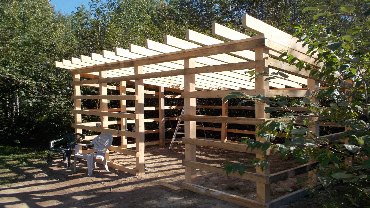 update on my wood shed build from my home made lumber - youtube TGHIJXH