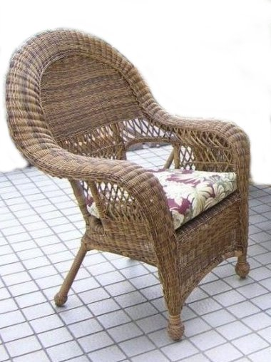 using outdoor wicker chairs LILVJTG