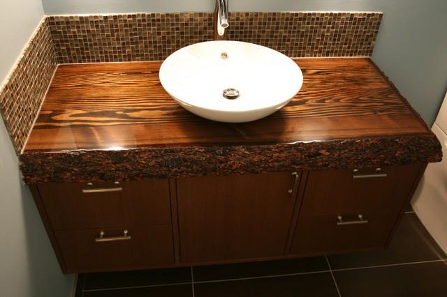 Options in bathroom vanity tops