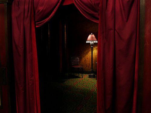 velvet drapes velvet curtain by court_master on flickr - lamp, chair, theatre, huntington FSACHDO