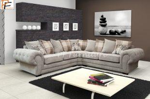 verona fabric corner sofa AZQPAJB