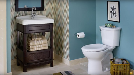 video:portsmouth bathroom furniture collection by american standard HDEHTTA