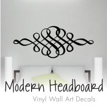 vinyl wall art floral headboards · modern headboards ... AMJOKDR