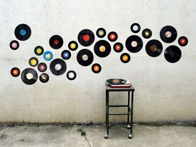 vinyl wall art record wall art by vinilo. #recordart #vinyl http://www. YHRSPOU
