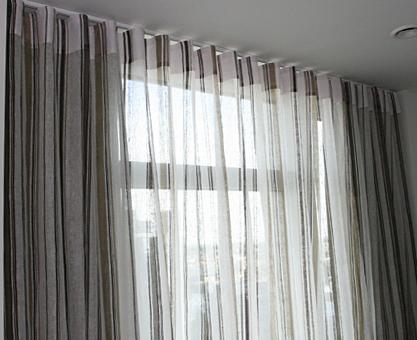 voile curtains best 3d scenery blackout curtains online MKFJBXI