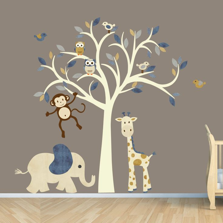 Pick out your favourite wall decals for nursery