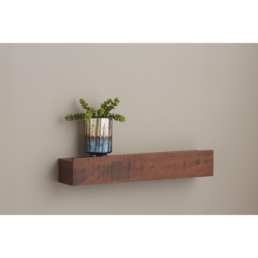 wall mounted shelves allen + roth 24-in w x 4.5-in h x 3.88-in BBJVXKG