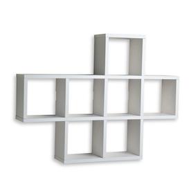 wall mounted shelves danya b 31-in w x 23-in h x 5.5-in d YDRUQAJ