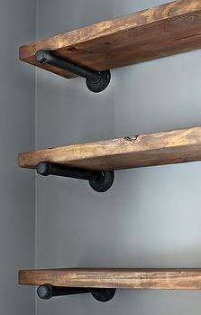 wall mounted shelves how to create rustic farmhouse decor at your home? RBFWBQQ
