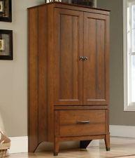 wardrobe armoire storage closet cabinet bedroom furniture wood clothes  organizer HEOXYDL