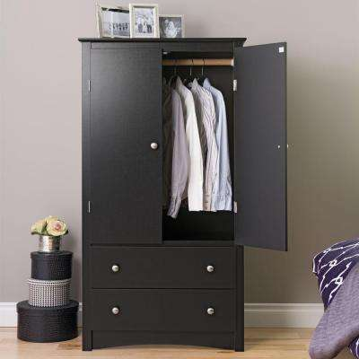 wardrobe armoires sonoma black armoire LIQPNBU