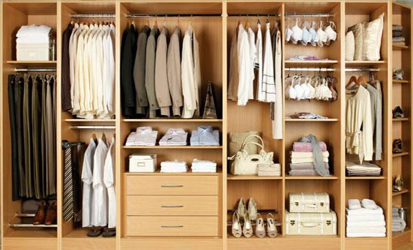 Various interesting ideas to wardrobe storage