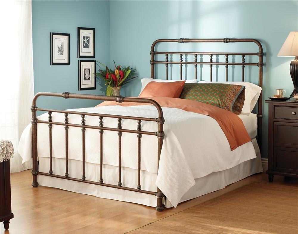 wesley allen iron beds queen complete laredo headboard and footboard bed ORWMBUQ