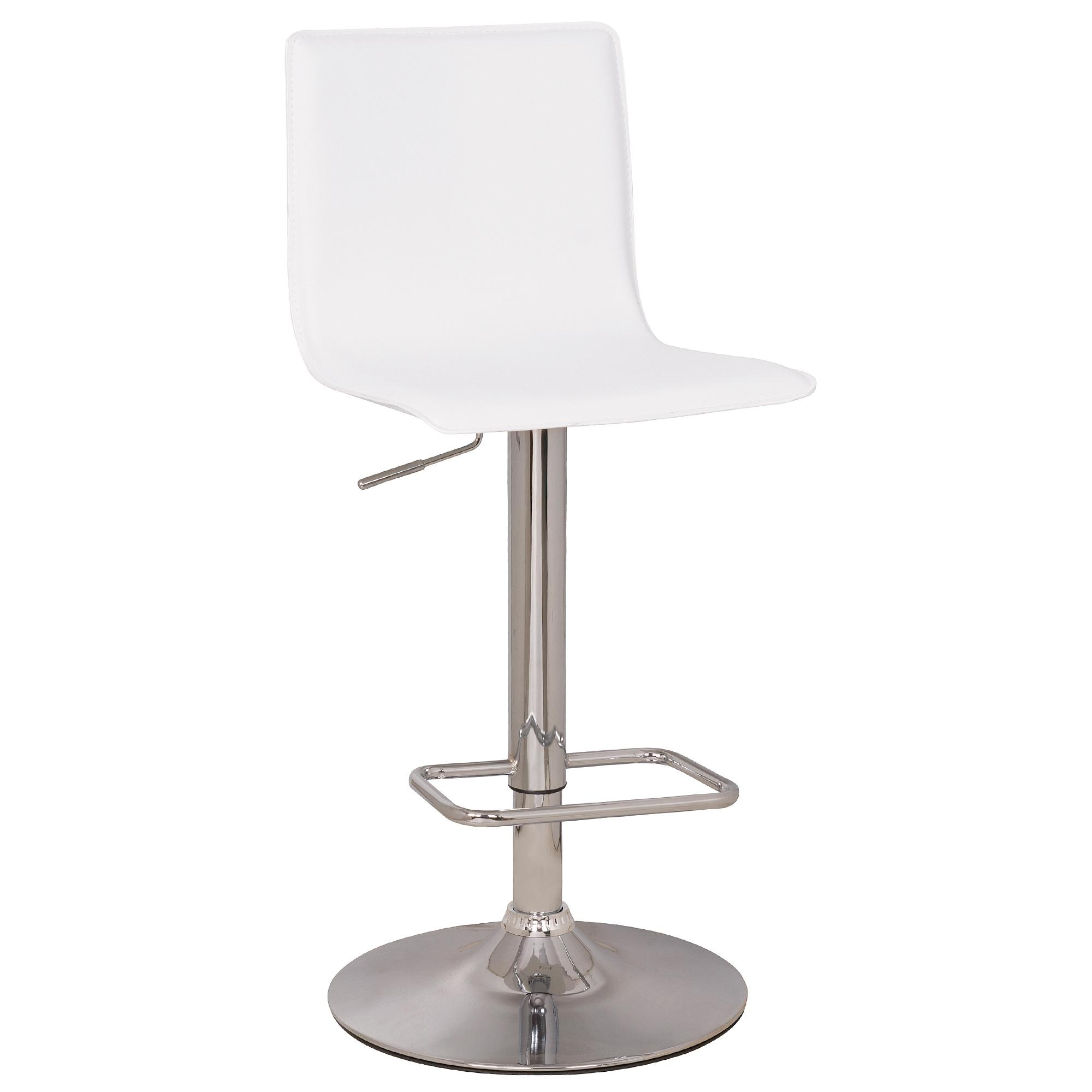 white bar stools aura upholstered white bar stool OVHQUBQ