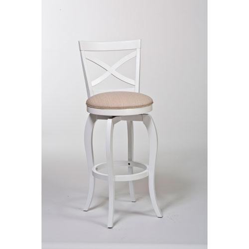 white bar stools ellendale white swivel counter stool BHWMQCY