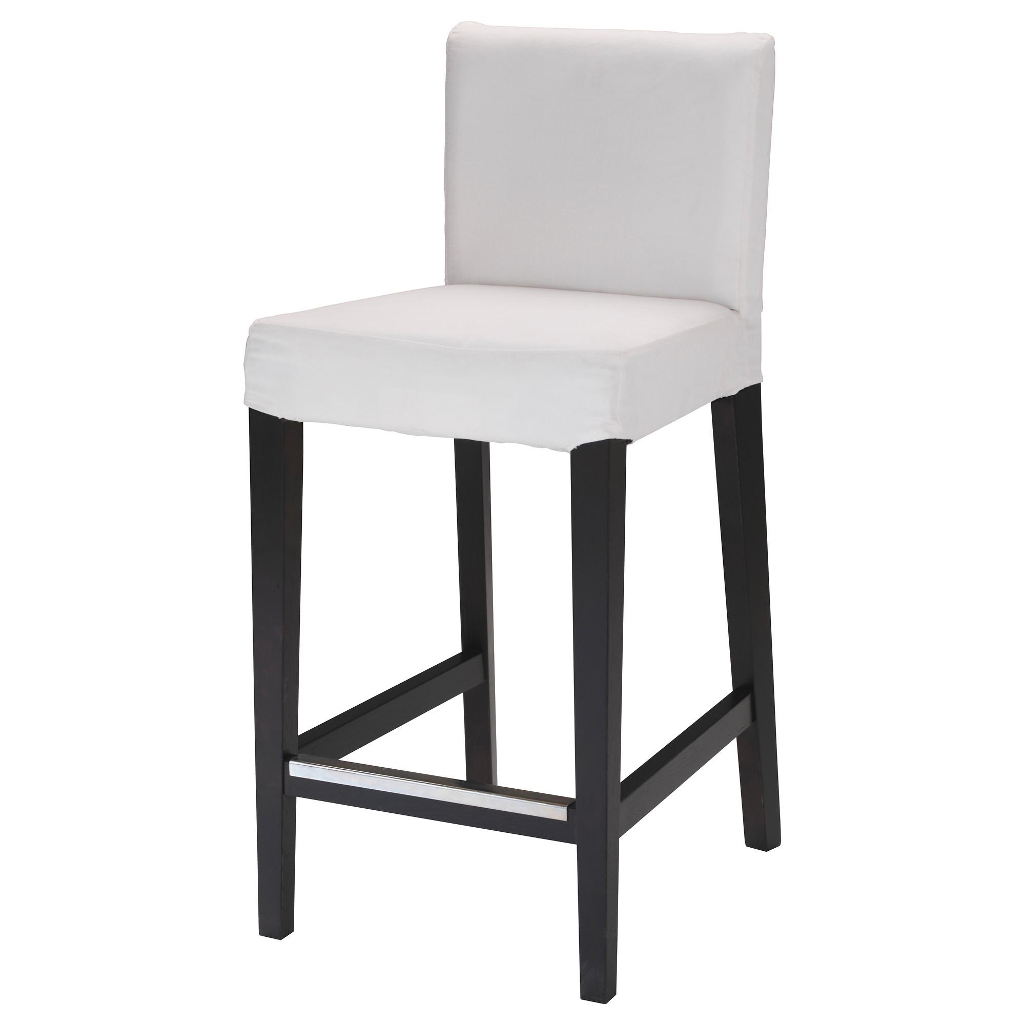 white bar stools henriksdal bar stool with backrest frame, brown-black tested for: 220 lb  width UZUGVLN