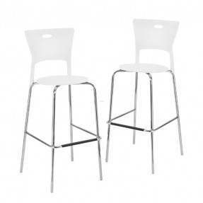 white bar stools with backs FJNTHBL
