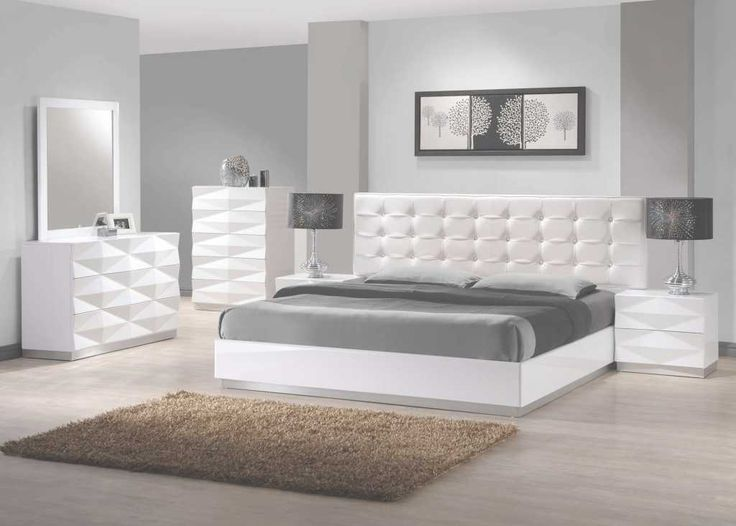 White bedroom sets – a mantra for calm and peace