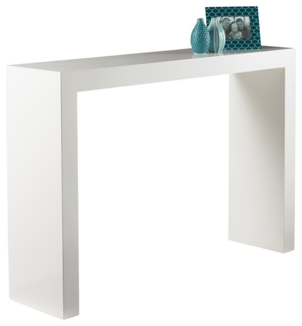 white console table clean look console table modern-console-tables GJZYRZK