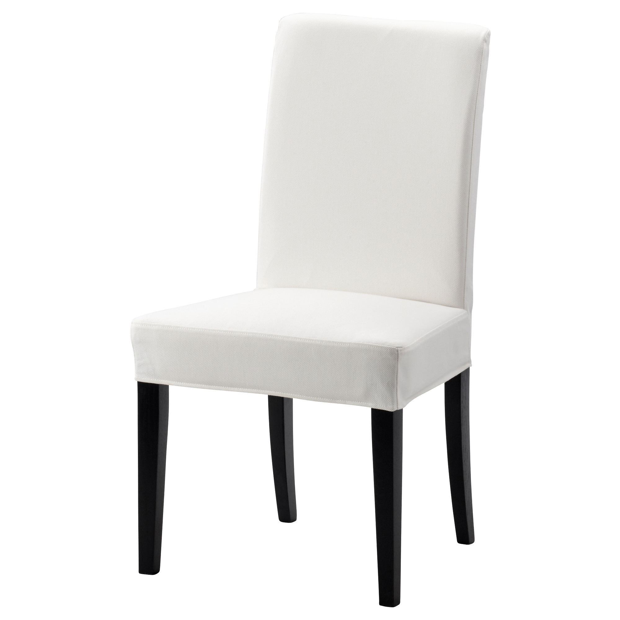 white dining chairs henriksdal chair, brown-black, gräsbo white tested for: 243 lb width: NWQRQAC