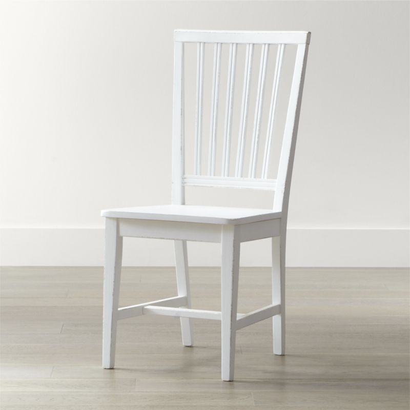white dining chairs village white wood dining chair JSKEAPQ