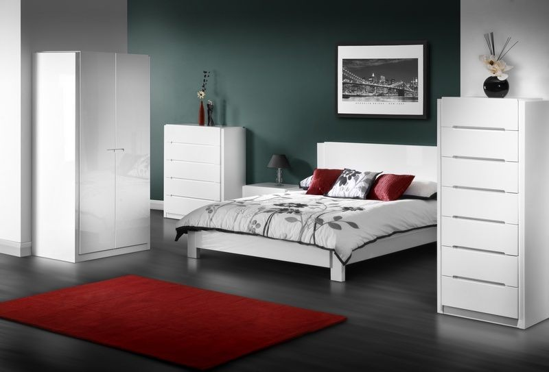 white gloss furniture white gloss bedroom furniture small UNEYGBE