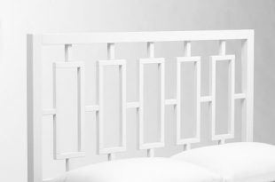 white headboard detailed view; detailed view ... PCMICRG